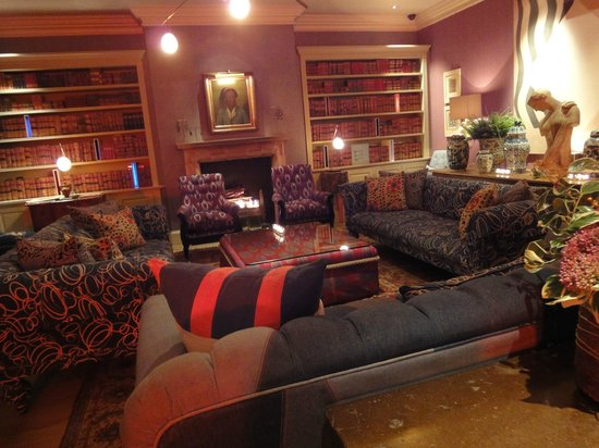 Haymarket Hotel: The Library