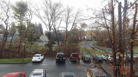 Residence Inn Hartford Avon: View from room on a clear day