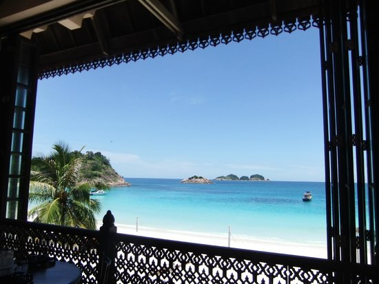 Laguna Redang Island Resort: view from restaurant