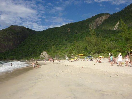 Prainha Beach : The small beach