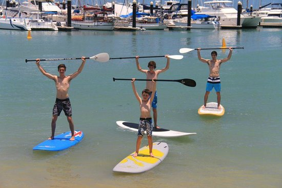 Whitsunday Stand Up Paddle and Kayak: Family fun!