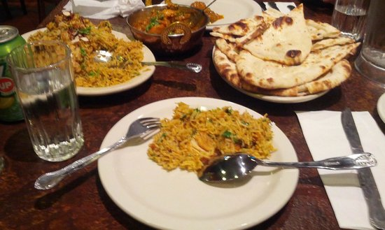 Curry Queen Indian Cuisine: Biryani, karahi and naan