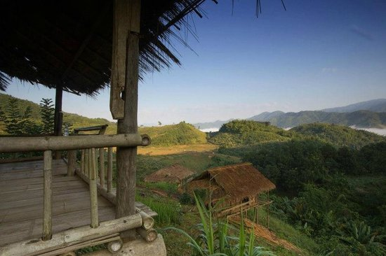 Bamboo Nest de Chiang Rai: View from Room