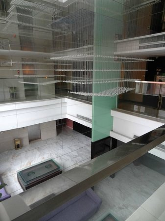 St.Martin Hotel: Lift landing area