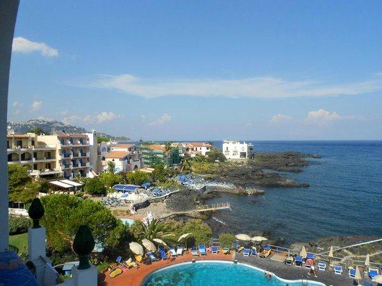 Arathena Rocks Hotel: Smuk udsigt fra værelset