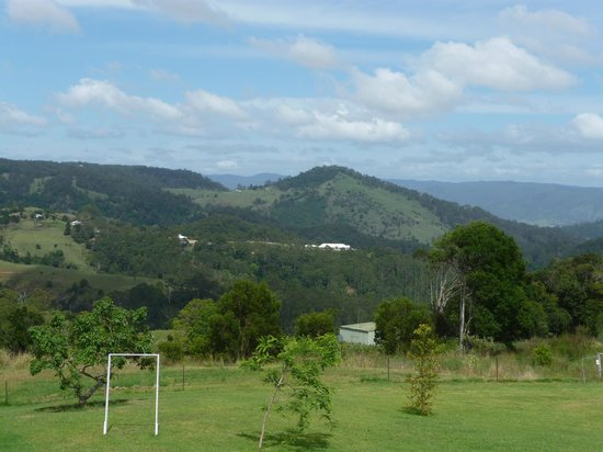 Maleny Hideaway: View from one of the Varendah's