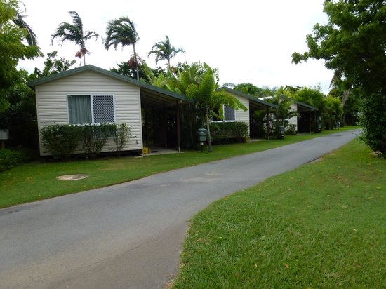 Queens Beach Tourist Village: some of the cabins