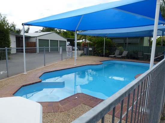 Queens Beach Tourist Village: the pool