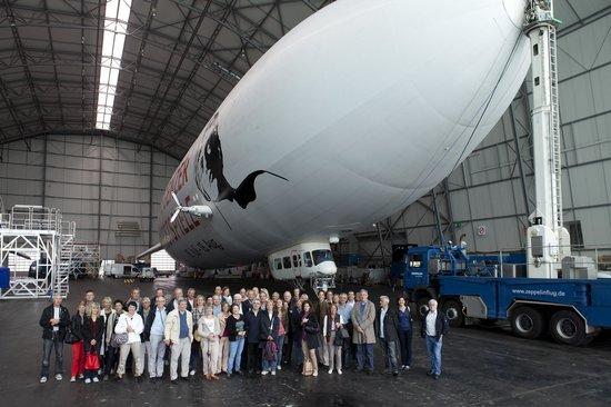 Zeppelin Hangar FN: visite ateliers Zeppelin 08 06 2012