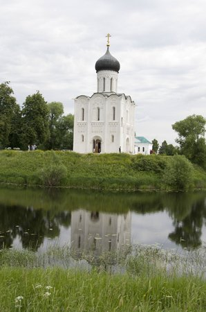 Bogolyubovo, Ρωσία: Храм Покрова на Нерли.