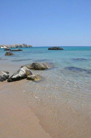Tsambika Beach: spiaggia