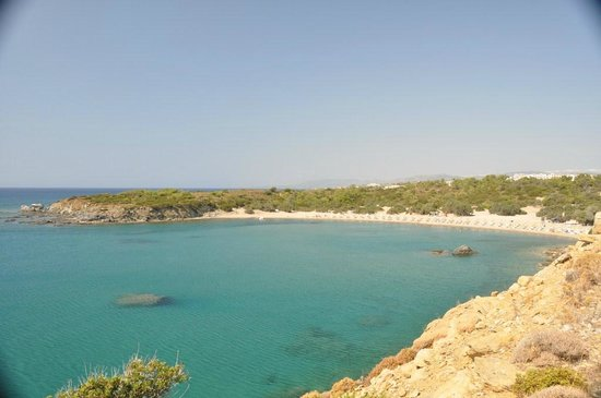 Kiotari, Grecja: spiaggia