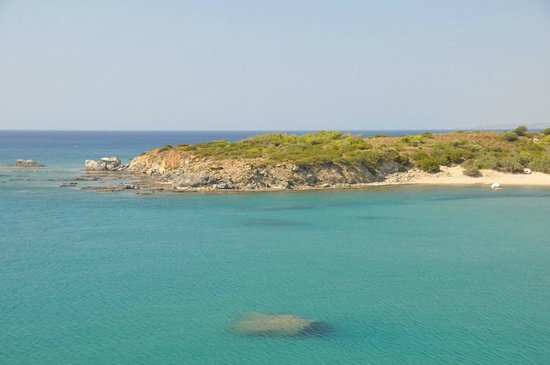Kiotari, Yunani: spiaggia