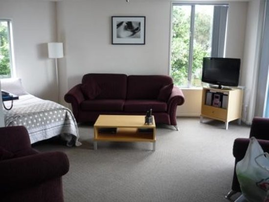 Kaikoura Apartments : Living room