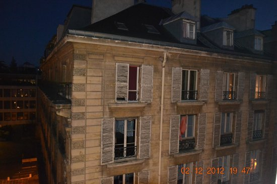 La Maison Favart: view from room 62