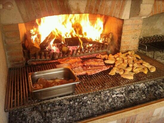 Cison Di Valmarino, Italy: grigliata