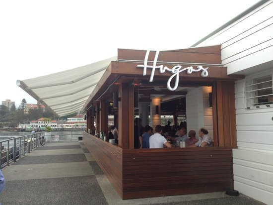 Hugos Manly : Right next Manly Ferry jetty, perfect place