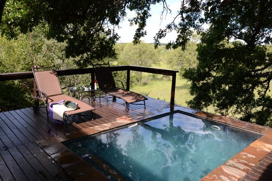 Elephant Plains Game Lodge: Manyeleti Suite - Veranda