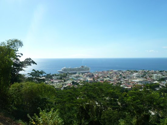 Bumpiing Tours: The view from Morne Bruce