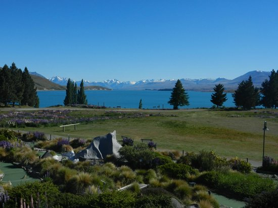 Lake Tekapo Village Motel: View from room balcony
