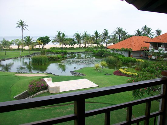 Grand Hyatt Bali: View from my room of the ocean