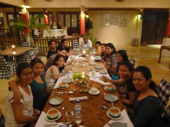 Alam KulKul Boutique Resort: Dinner