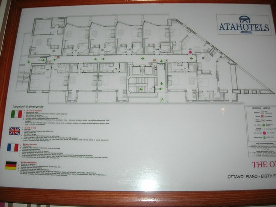 Atahotel The One: Floor plan