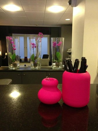 Andersen Boutique Hotel: Reception