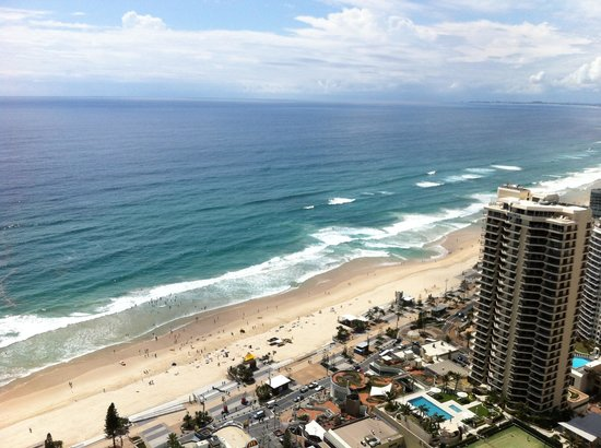 Hilton Surfers Paradise Hotel: View from room