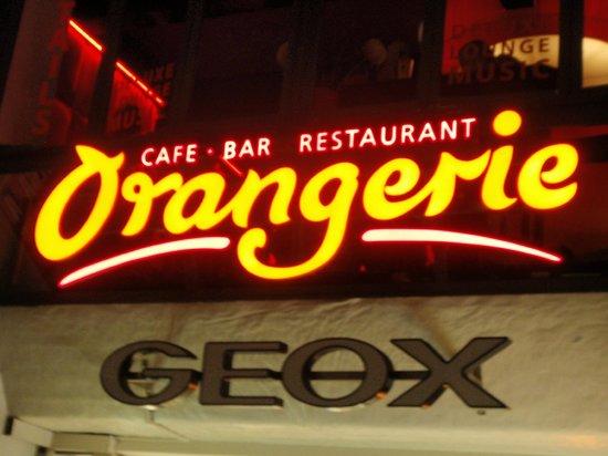 Orangerie: From Outside