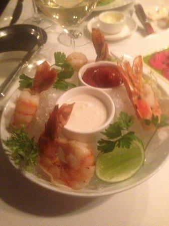 Cafe Ponte: Shrimp Tempura style