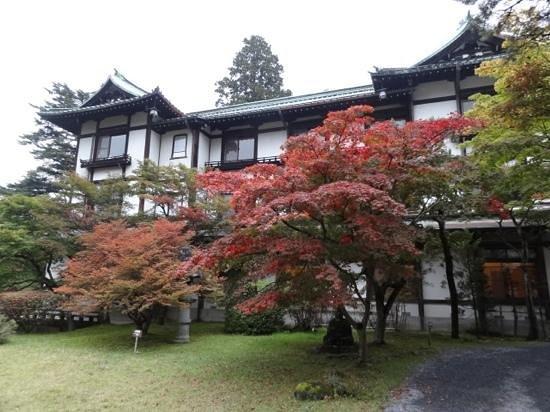 Nikko Kanaya Hotel: 金谷ホテルの紅葉