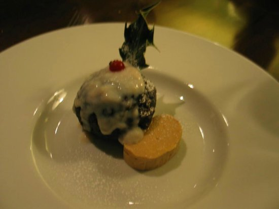 Nanteos Mansion: An early Nanteos made delicious Christmas pudding.