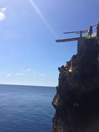 Ariel's Point: 15 meter Jump