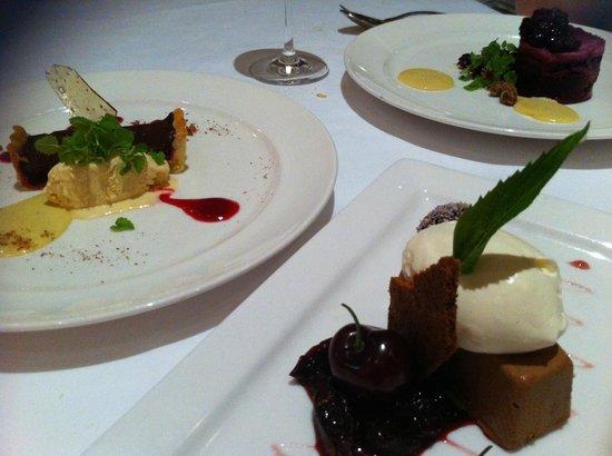 The Ginger Room: desserts