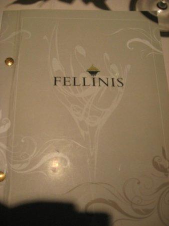 Fellinis: Menu