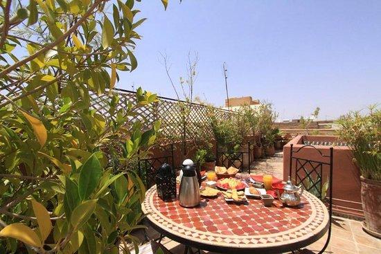 Riad Zehar : Terrasse