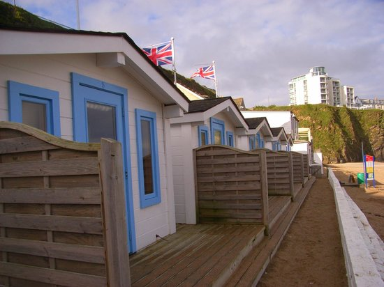 Tolcarne Beach Apartments: shack