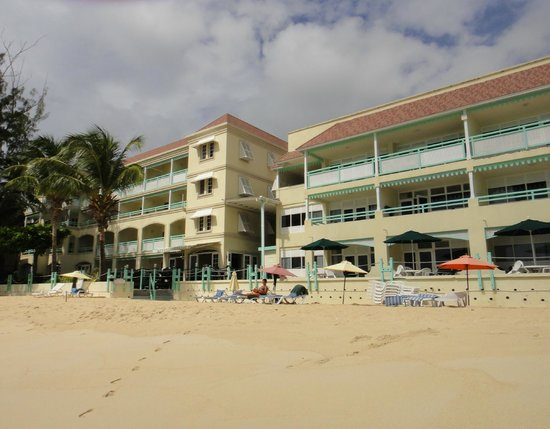 Coral Mist Beach Hotel -view from the beach