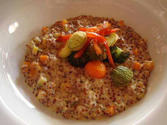 Awasi Atacama - Relais & Chateaux: Quinoa risotto for lunch - delicious!