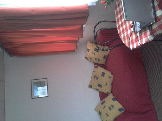 Botel Hotel Lisa: salon