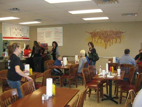 Chop House Burgers: Inside of the Chop House