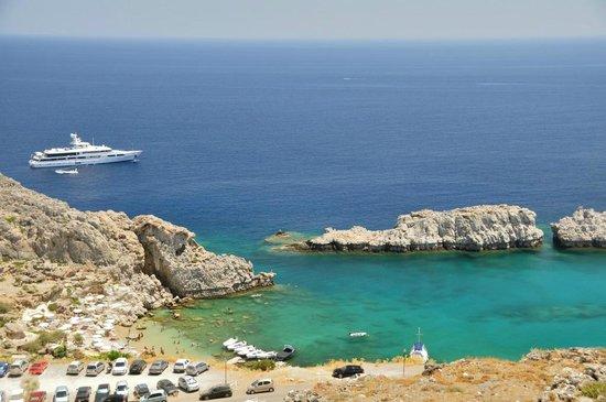 Agios Pavlos Beach (Saint Paul) : St Paul Bay