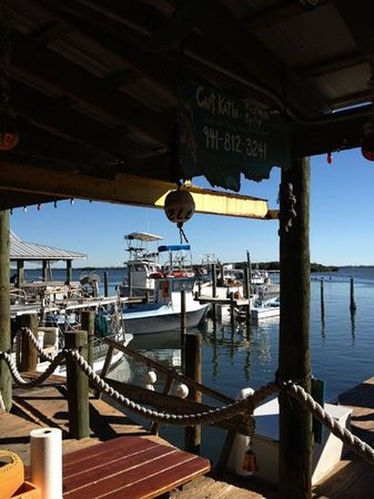 Star Fish Company Dockside Restaurant: view from the bar
