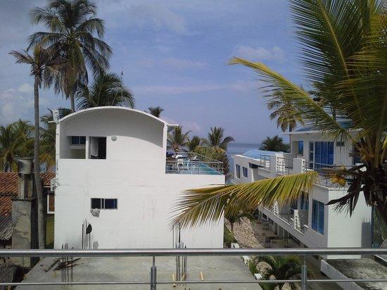Hotel PortoAlegre Covenas: vista desde terraza