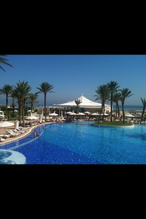 Movenpick Resort & Marine Spa Sousse: Pool view