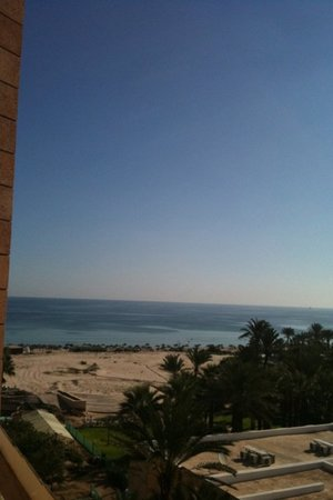 Movenpick Resort & Marine Spa Sousse: View from balcony