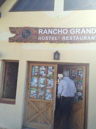 Rancho Grande Hostel: L'ingresso
