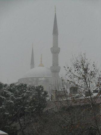 Osmanhan Hotel: 屋上より