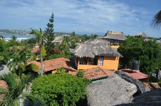 Casa de Dan: The view of the hotel grounds from room 9